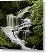 Roaring Creek Falls Metal Print