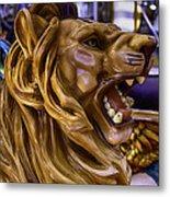Roaring Lion Ride Metal Print