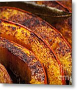 Roasted Pumpkin Metal Print