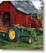 Rob Smith's Tractor Metal Print by Lee Piper