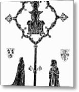 Robert De Paris And Widow Metal Print