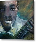 Robert Johnson Crossroad Blues Metal Print