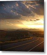 Robert Melvin - Fine Art Photography - Arizona Sunset Metal Print