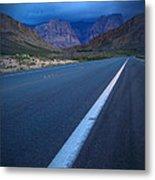 Robert Melvin - Fine Art Photography - Blue Diamond Storm Metal Print