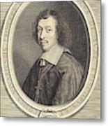 Robert Nanteuil French, 1623 - 1678, Louis-francois De La Metal Print