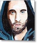 Robert Pattinson 128a Metal Print