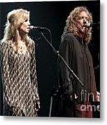 Robert Plant And Alison Kraus Metal Print