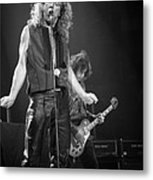 Robert Plant And Jimmy Page Metal Print