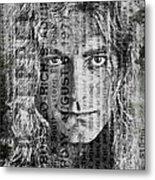 Robert Plant - Led Zeppelin Metal Print