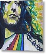 Robert Plant.. Led Zeppelin Metal Print