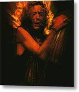 Robert Plant Led Zeppelin Metal Print