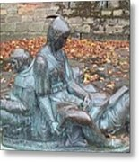 Robin Hood And His Men Take A Rest Metal Print