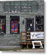 Robin's Nest Store In Autumn Michigan Usa Metal Print