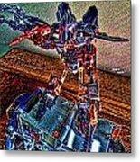 Robo Man Metal Print