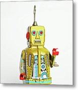 Robots Metal Print