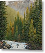 Robson River Falls Metal Print
