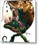 Robyn Hood 01h Metal Print by Zenescope Entertainment