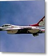 Rochester Air Show Thunderbirds Metal Print