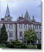 Rochester Cathedral Cafe Metal Print