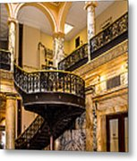 Rochester City Hall Stairs Metal Print