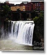 Rochester Ny High Falls Metal Print