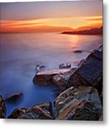 Rock A Nore Hastings Metal Print by Mark Leader