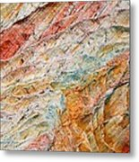 Rock Abstract #2 Metal Print