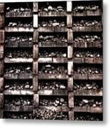 Rock Apartments Metal Print