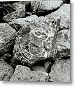 Rock Art Metal Print