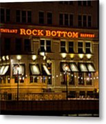 Rock Bottom - Milwaukee  Metal Print