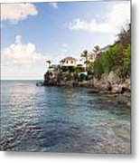 Rock Cottage Metal Print