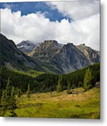 Rock Creek Canyon 1 Metal Print by Roger Snyder