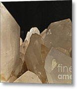 Rock Crystals Metal Print