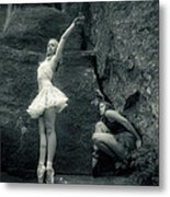 Rock Dancing Metal Print