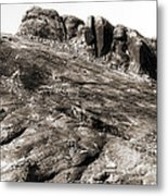 Rock Details Metal Print by John Rizzuto