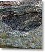 Rock Formation 1a Metal Print