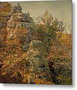 Rock Formation Metal Print