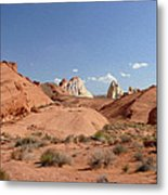 Rock Formations Metal Print