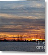 Rock Hall Sunset I Metal Print