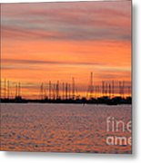 Rock Hall Sunset II Metal Print