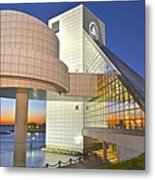 Rock Hall Sunset Metal Print