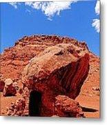 Rock House In Arizona Metal Print