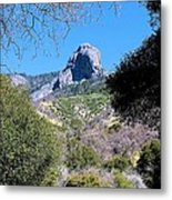 Rock In California Metal Print