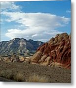 Rock Layers Metal Print