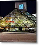 Rock n Roll hall of Fame Induction Metal Print