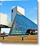 Rock n Roll Hall of Fame Metal Print