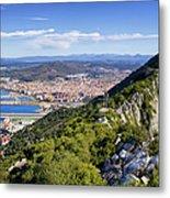 Rock Of Gibraltar Metal Print