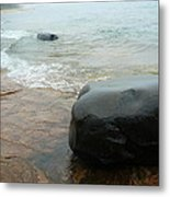 Rock On Rock Metal Print