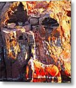 rock structure at Sea of Cortez Metal Print