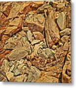 Rock Texture Metal Print